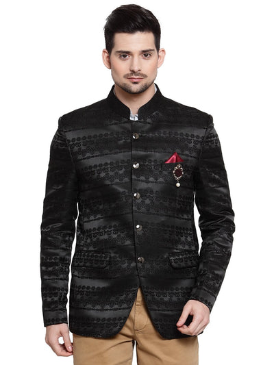 Mens party wear 3 piece coat with maroon waistcoat