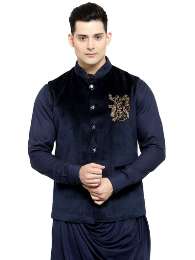 Buy this fusion traditional look mens designer waistcoat online