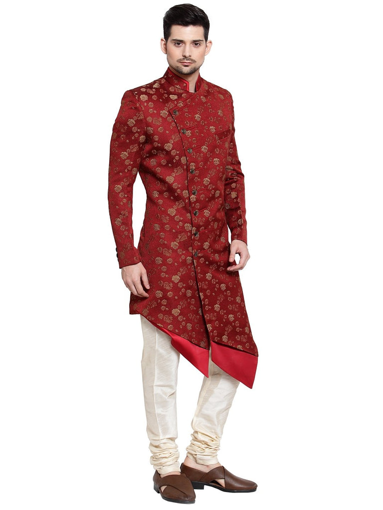 Buy mens green party wear indo-western in ashok vihar