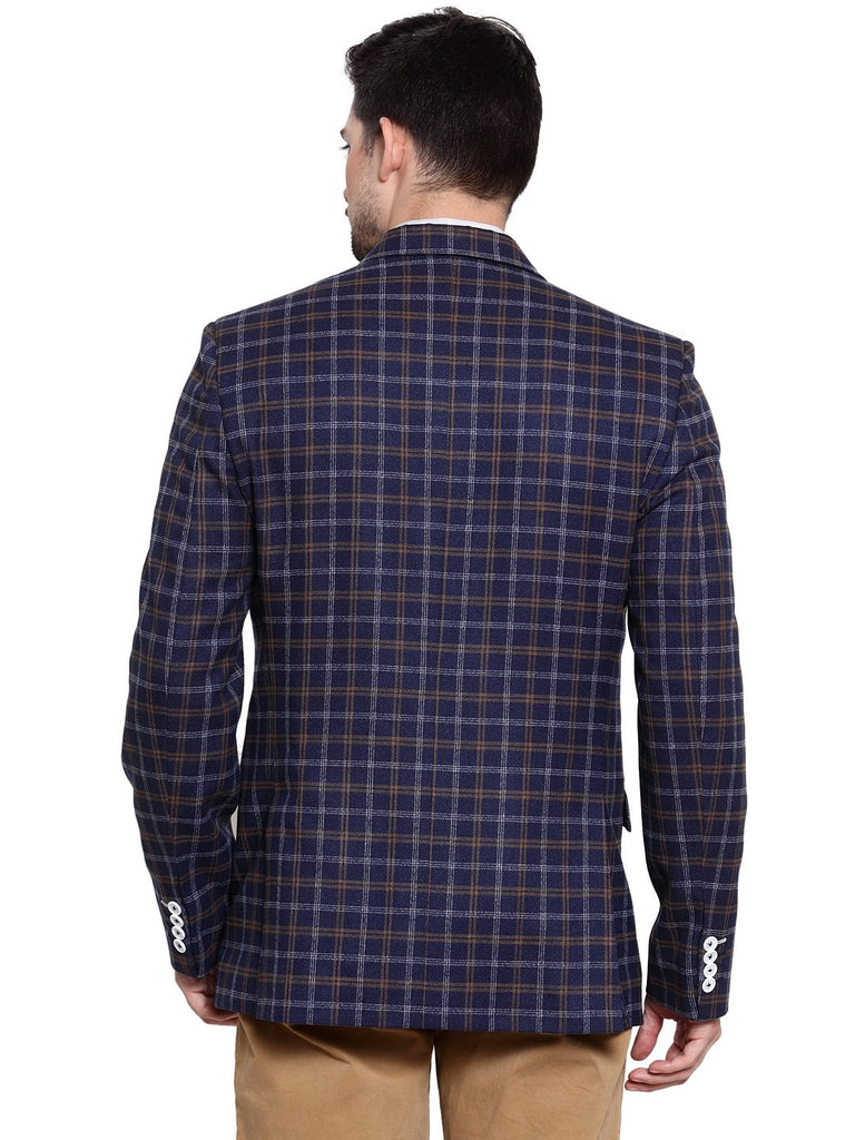 Buy mens classic check coat in delhi
