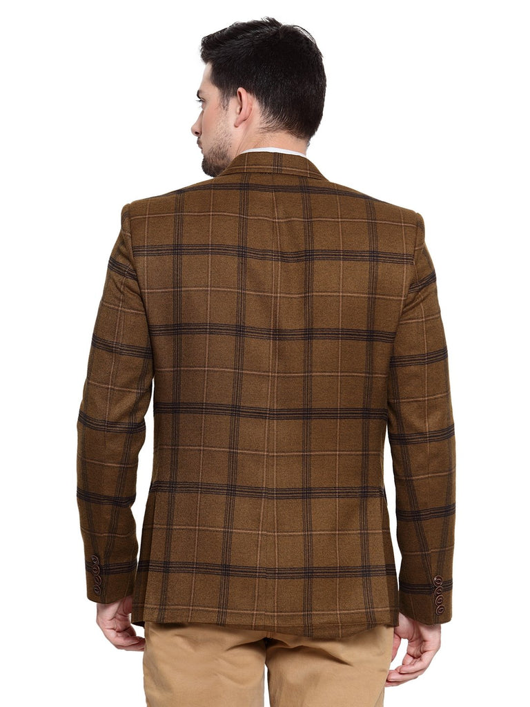 Buy the designer check pattern coat in ashok vihar