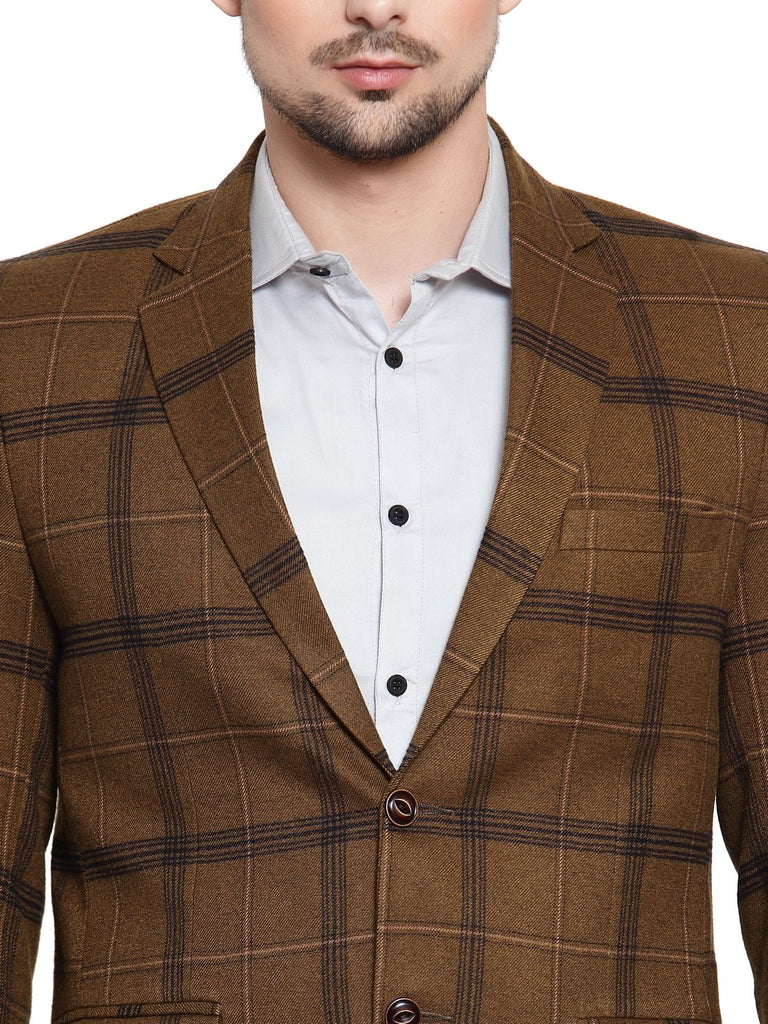 Buy the designer check pattern coat online