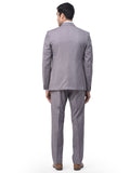 Royalist Grey Men's Trending Formal 3 Piece Suit