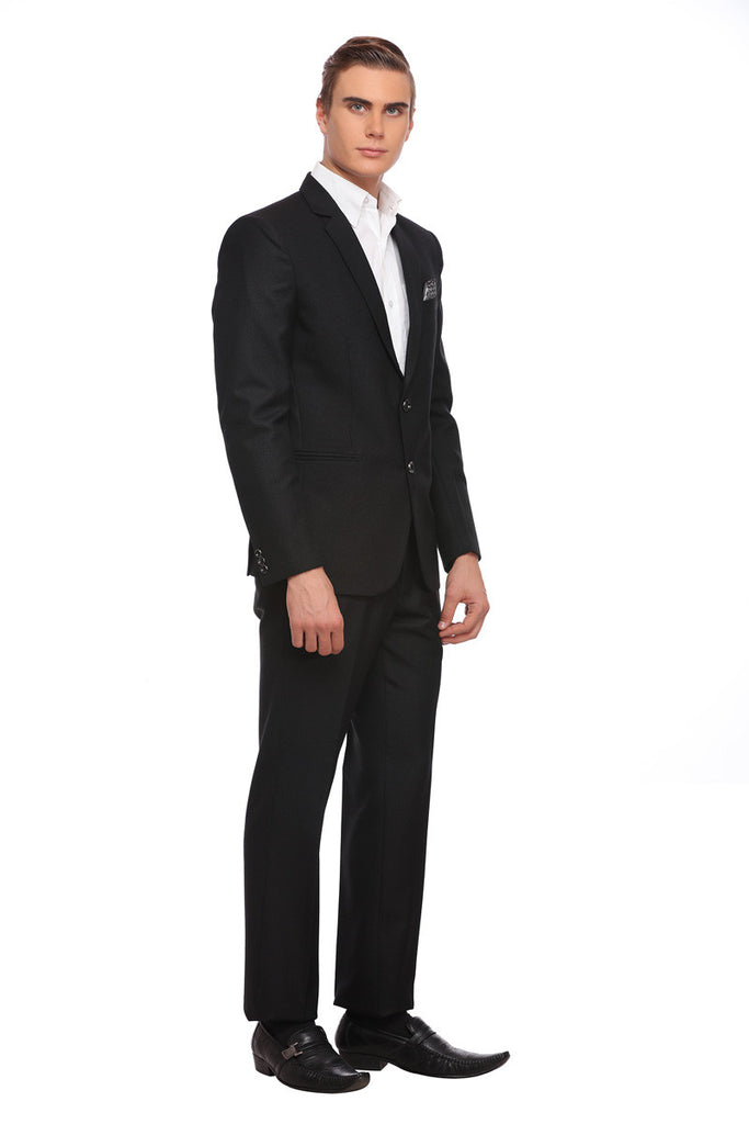 Buy black woolen suit