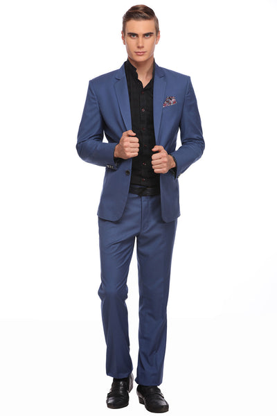 Buy Blue Formal Suit