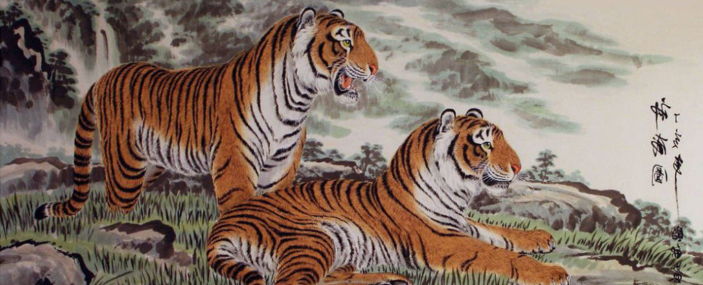 COUPLE JAPANESE TIGER
