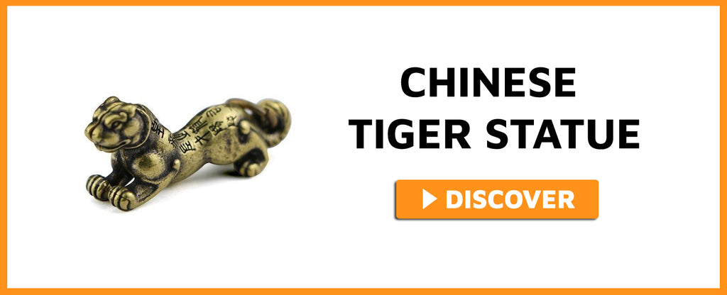 CHINESE TIGER STATUE