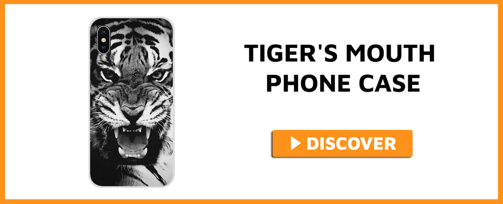 TIGER'S MOUTH PHONE CASE
