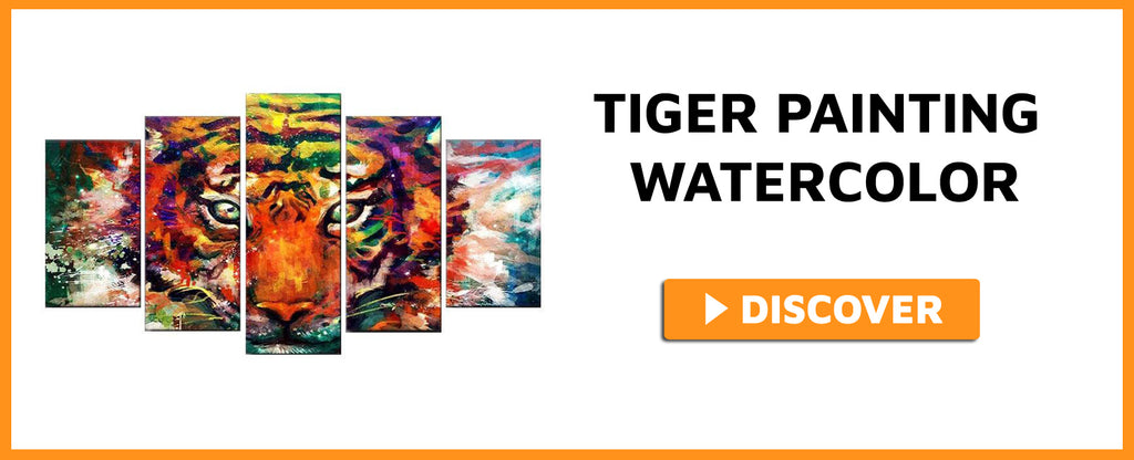 TIGER PAINTING WATERCOLOR