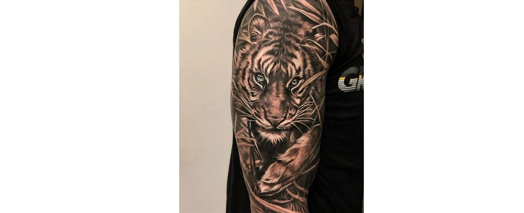 The Realistic Tiger Tattoos