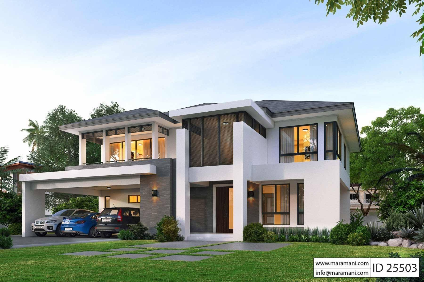 5 Bedroom House Plans Designs For Africa Maramani Com