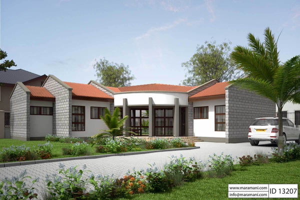 2 Bedroom House Plans In Uganda Designs By Maramani,300 Square Foot Apartment Layout