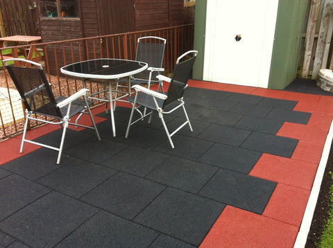 cheap outdoor flooring options