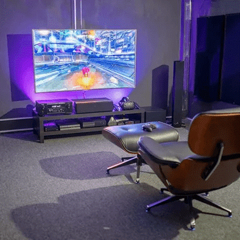 gaming setup ideas for small rooms