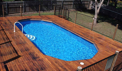 small above ground pool ideas on a budget
