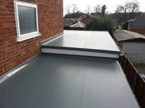 types of flat roof covering