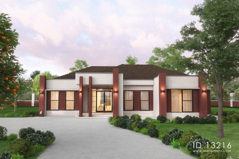 modern house plans with photos