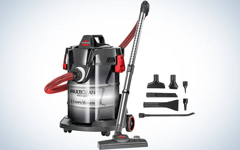 how to use a shop vac for water