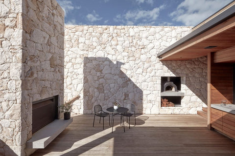 types of stone for house exterior