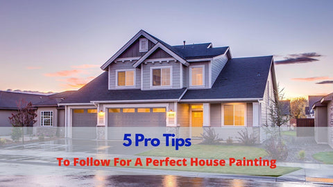 5 Pro Tips to Follow For a Perfect House Painting