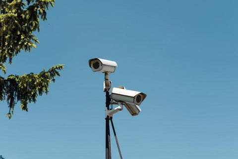 security cameras inside or outside