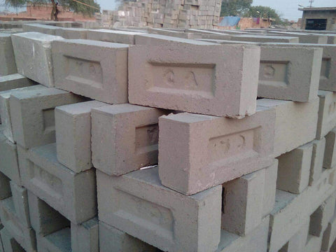 different types of house bricks