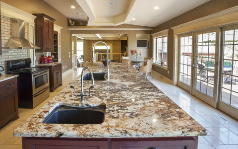 types of kitchen countertop materials