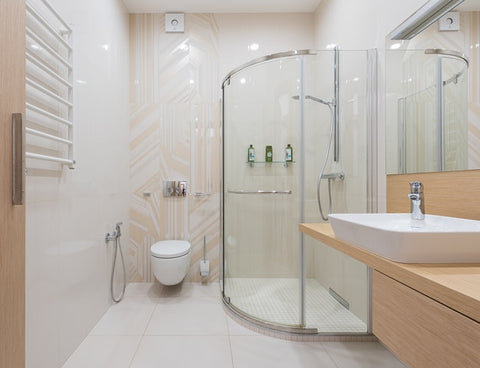 how to clean bathroom tiles with vinegar