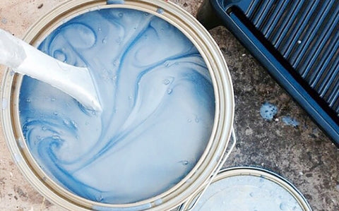 how to paint a pool slide