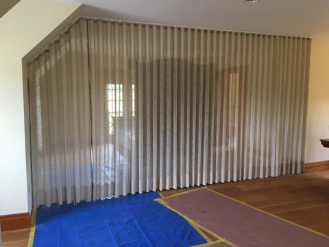 types of curtains for bedroom