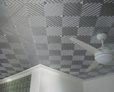 how to install acoustic ceiling tiles