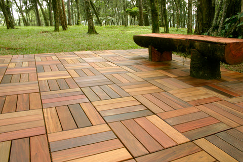 cheapest patio flooring