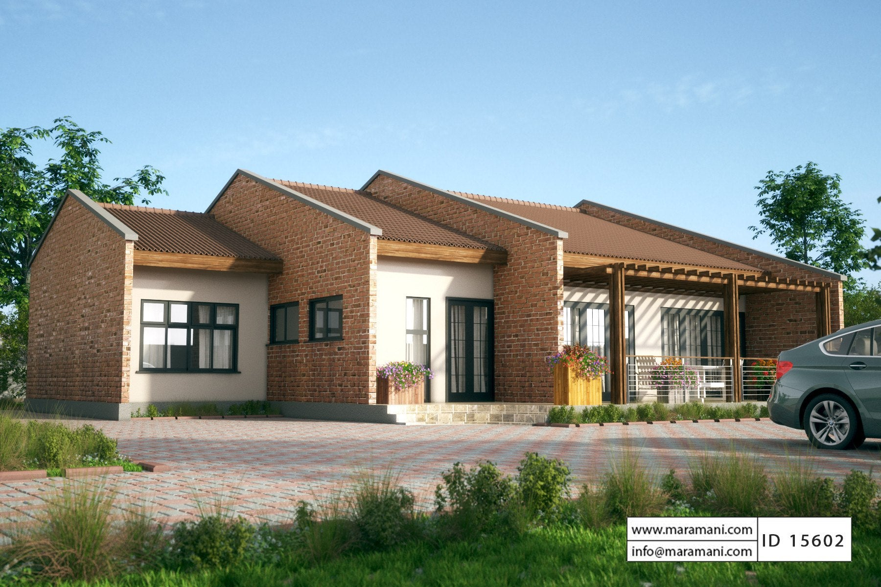 5 Bedroom House PlanID 15602House Plans by Maramani