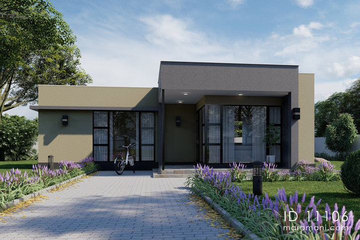 Small Modern House Design - ID 11106