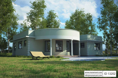 3 Bedroom House Plan - ID 13202