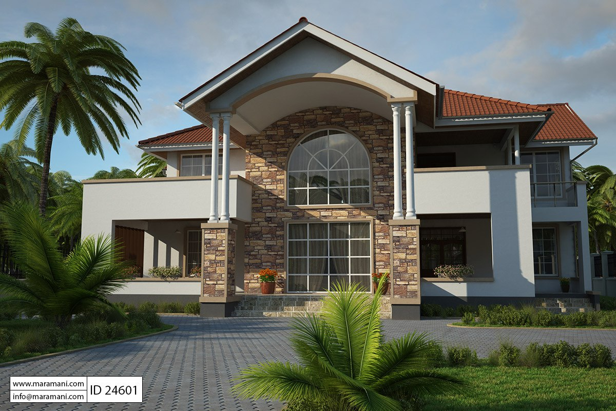 4 Bedroom House Plan. 4 Bedroom House Plan  ID 24601 Plans Designs for Africa by Maramani