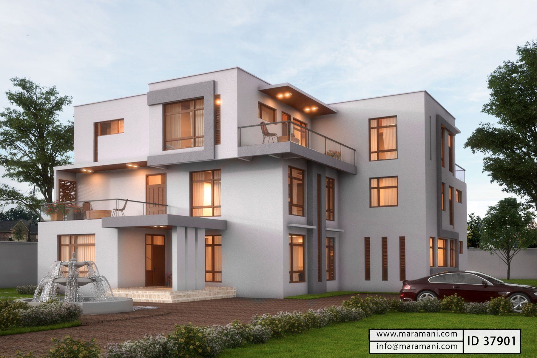 Mansion house design id 37901 house designs by maramani for Mansion house design