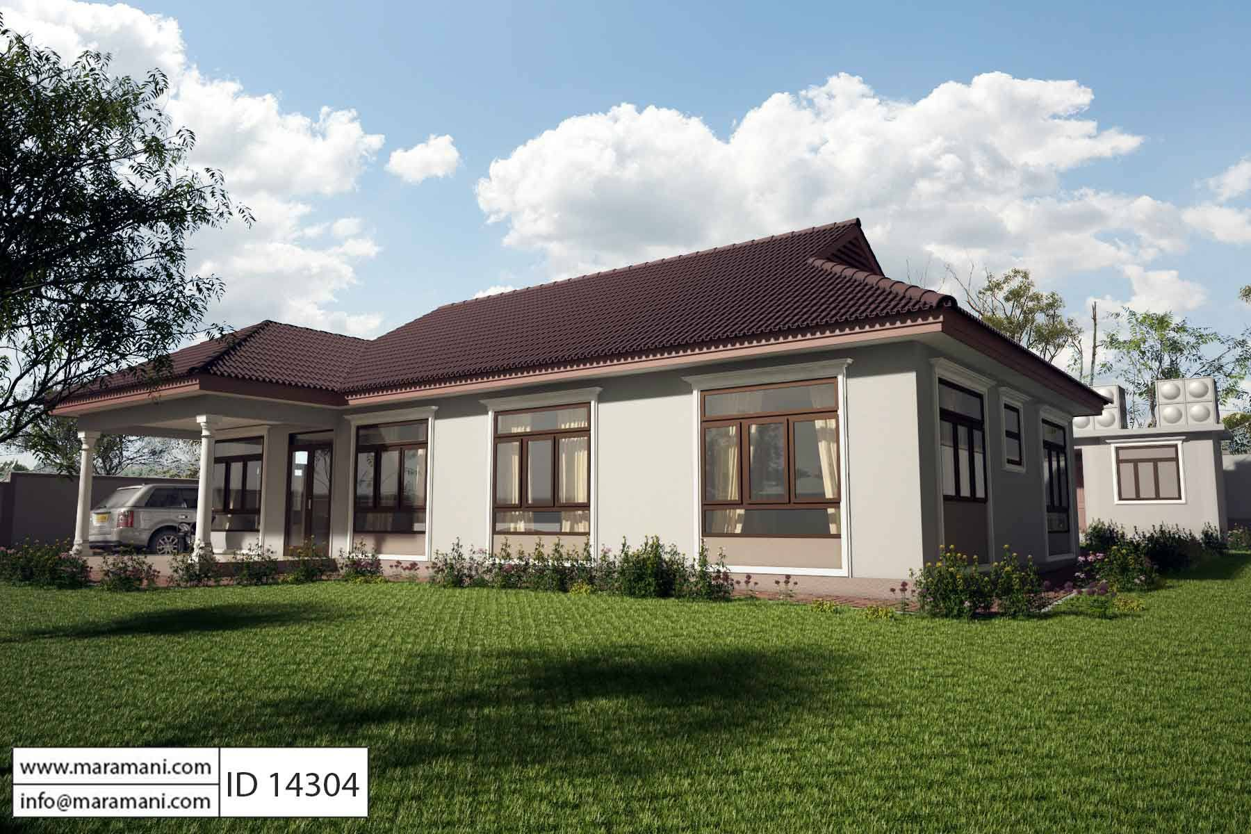 4 bedroom house plan id 14304 house plans by maramani for 4 bedroom cabin plans