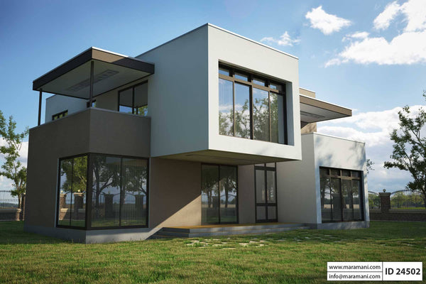 modern 4 bedroom house four bedrooms modern house design id 24502 maramani 16216