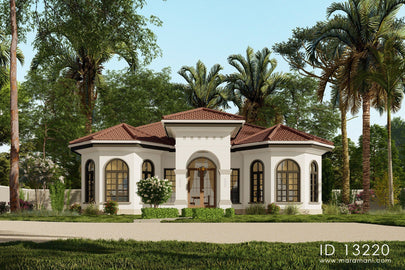3 bedroom Mediterranean house - ID 13220