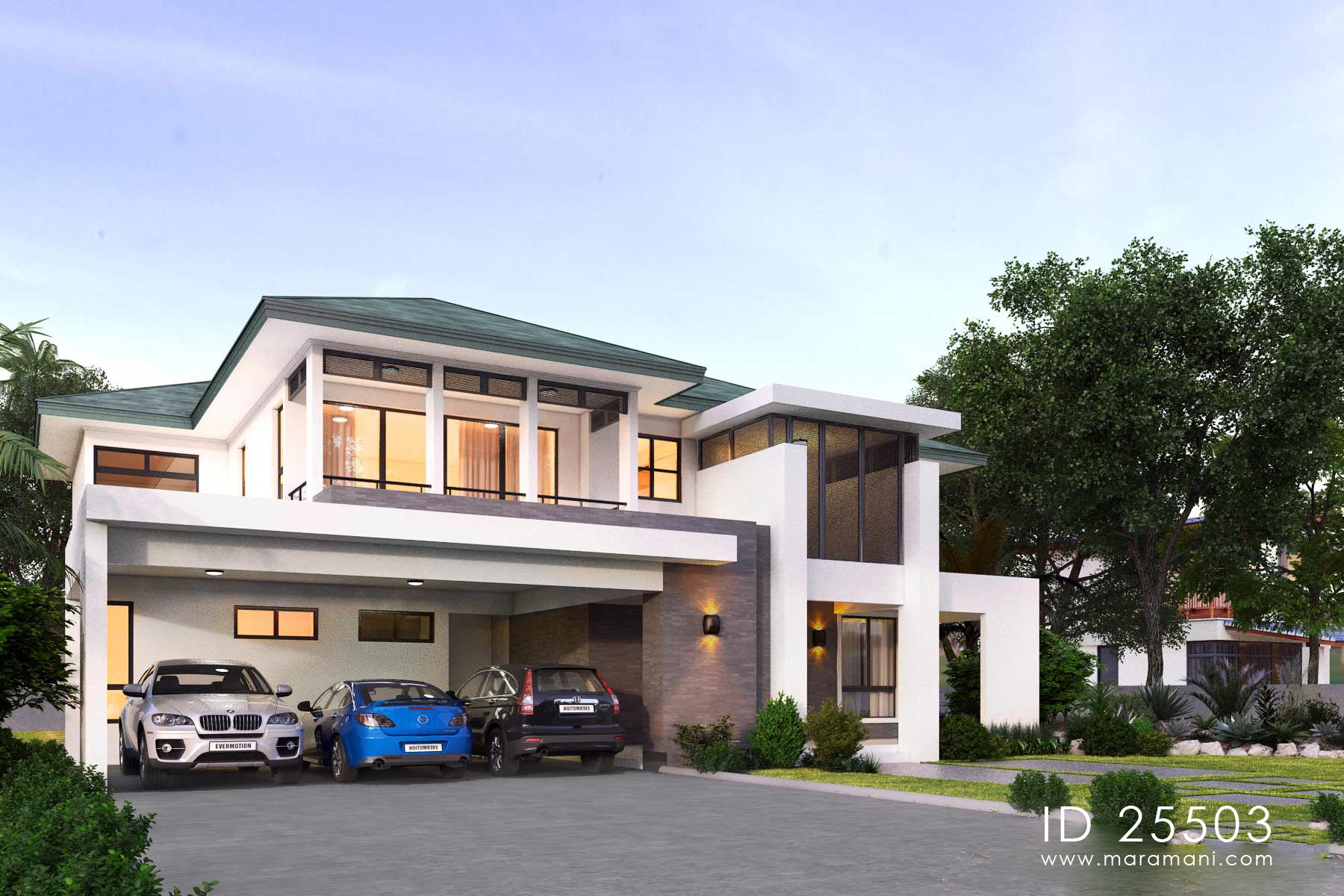 5 Bedroom Plan - ID 25503 - House Plans by Maramani