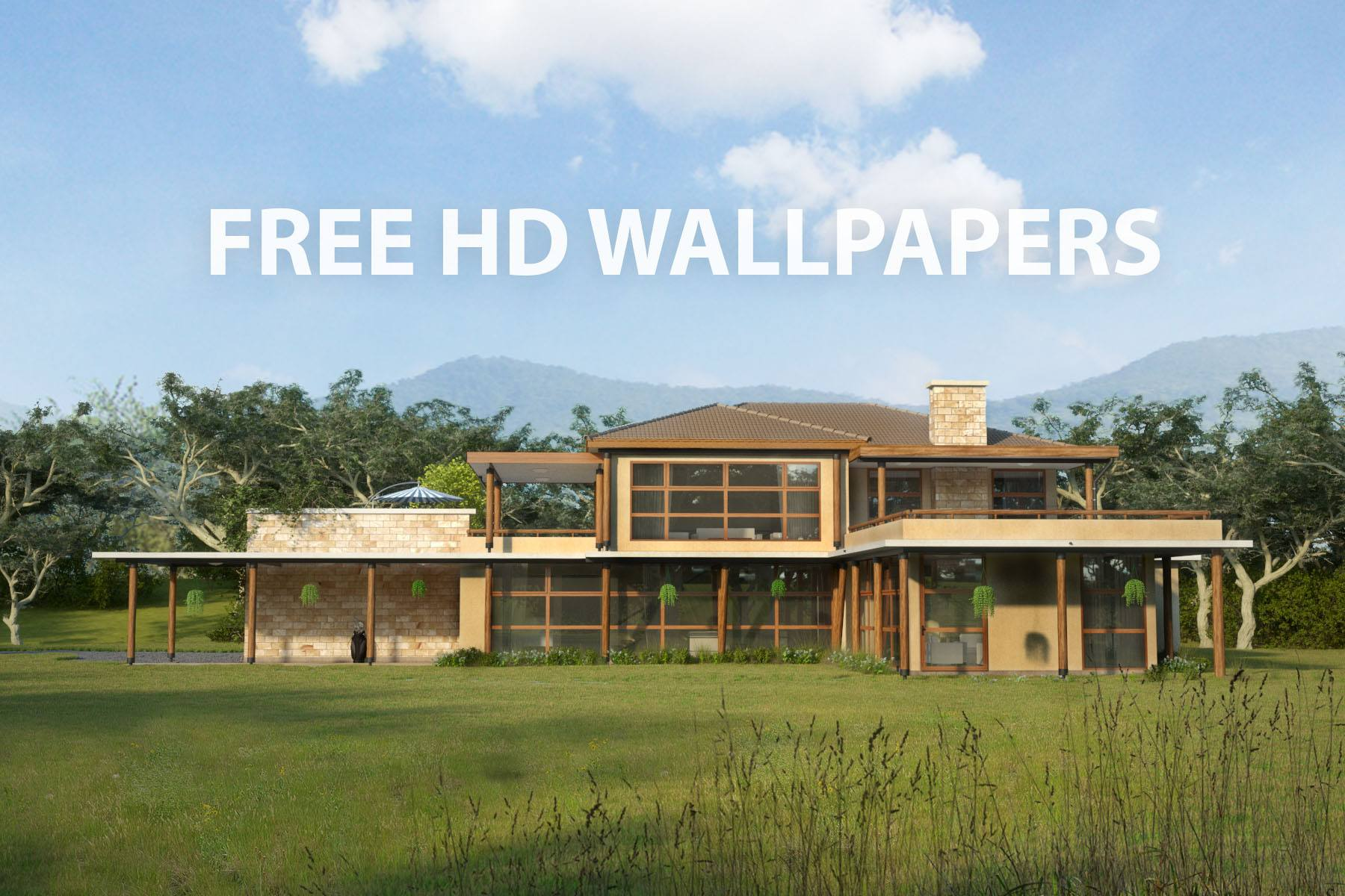 Free beautiful house hd wallpapers house plans by maramani for Free farmhouse plans