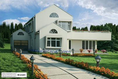 3 Bedroom House Plan - ID 23201