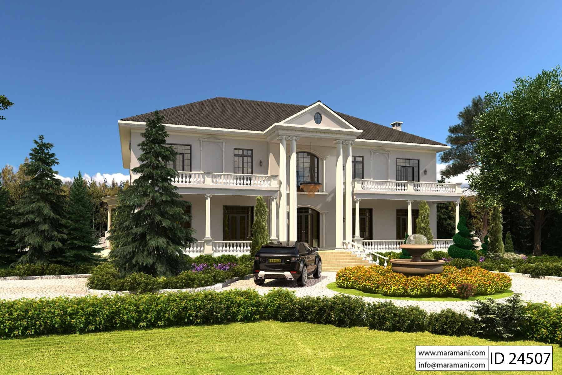 4 bedroom maisonette id 24507 house plans by maramani for Maisonette house plans