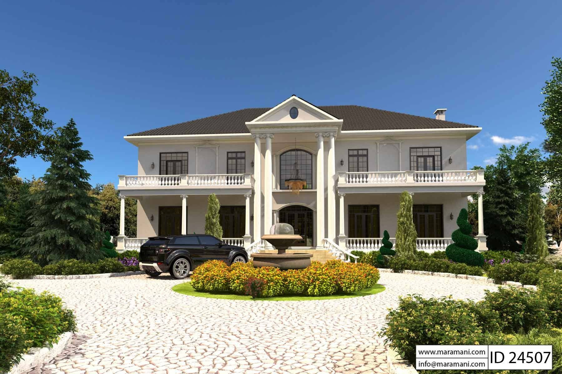 4 Bedroom House Plan ID 24507