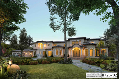 6 Bedroom House Plan - ID 26702