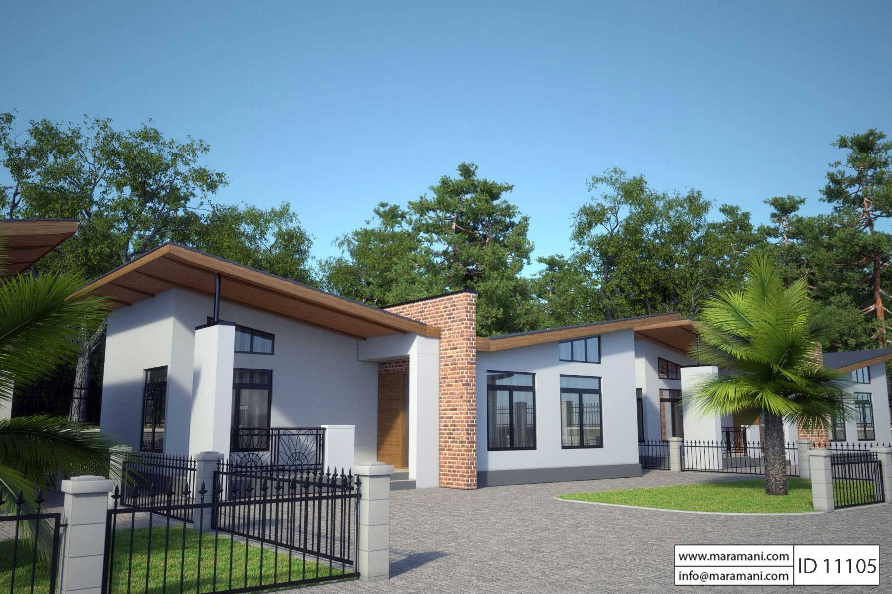 1 Bedroom House Plan   ID 11105