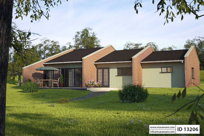3 Bedroom House Plan - ID 13206