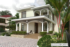4 Bedroom House Plan - ID 24311