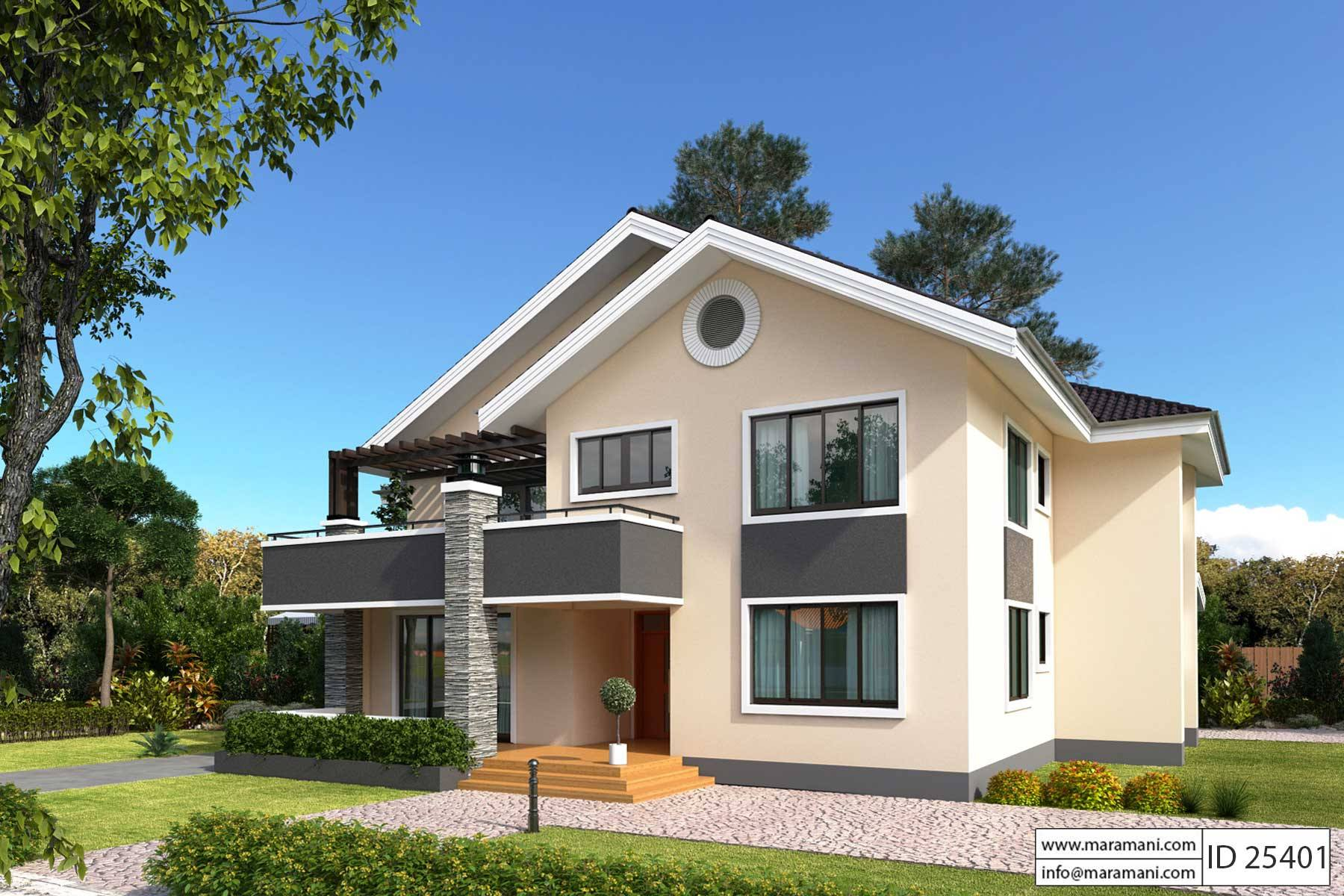 5 bedroom house plan id 25401 floor plans by maramani for 5 bedrooms